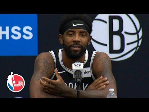 Kyrie Irving full press conference | Brooklyn Nets | 2019 NBA Media Day