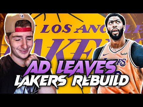 ANTHONY DAVIS LEAVES LAKERS REBUILD! NBA 2K20