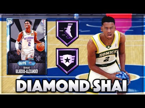 DIAMOND SHAI GILGEOUS-ALEXANDER IS INCREDIBLE!! | IS HE THE BEST POINT GUARD IN NBA 2K20 MyTEAM?