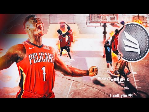 ZION WILLIAMSON RETURNS AND DOMINATES THE PARK in NBA 2K20! CRAZY CONTACT DUNKS! BEST SLASHER BUILD