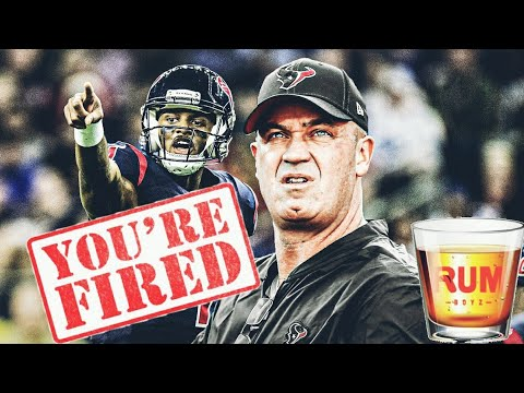 Texans Fire Bill O'Brien