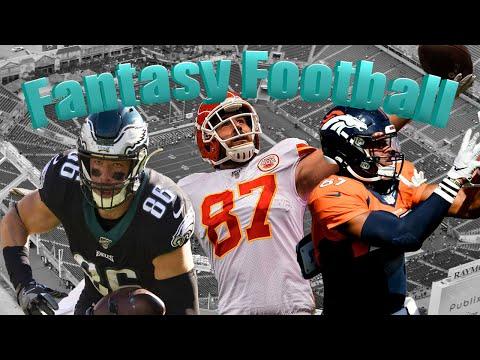 Top 10 Fantasy Football Tight Ends 2020