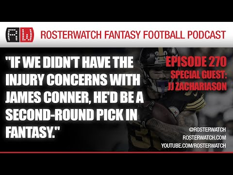Fantasy Football 2020 – GUEST: JJ Zachariason – RosterWatch Podcast Ep 270