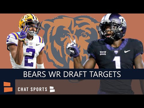 Chicago Bears Now: 3 Wide Receivers The Bears Should Target In The 2020 NFL Draft Feat. Jalen Reagor
