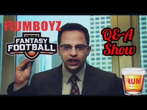 Rumboyz Fantasy Football LIVE Q&A Week 5