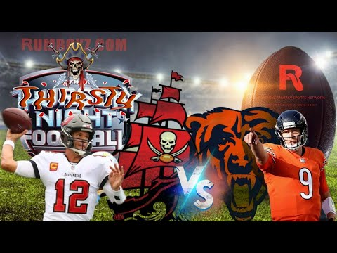 Tampa Bay Buccaneers vs Chicago Bears Thursday Night Football week 5