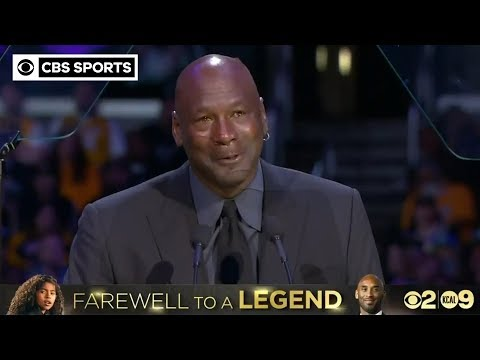 """When Kobe Bryant died, a piece of me died."" – Michael Jordan 