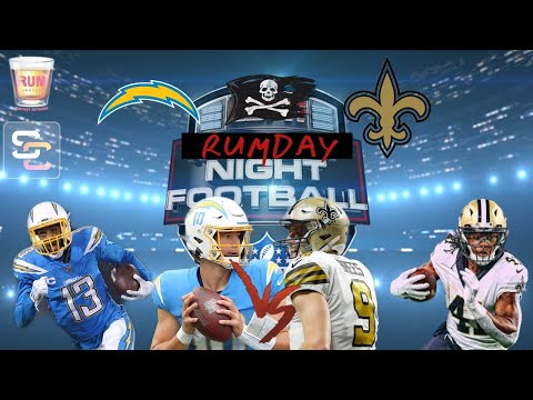 Los Angeles Chargers vs New Orleans Saints Monday Night Football week 5