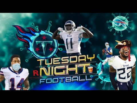Buffalo Bills vs Tennessee Titans Tuesday Night Football week 5