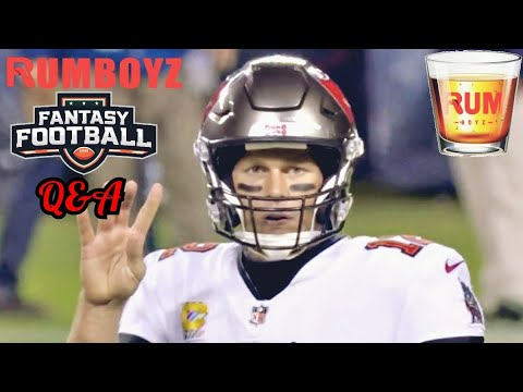 Rumboyz Fantasy Football LIVE Q&A Week 6