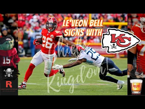 Le'Veon Bell signs with Kansas City Chiefs
