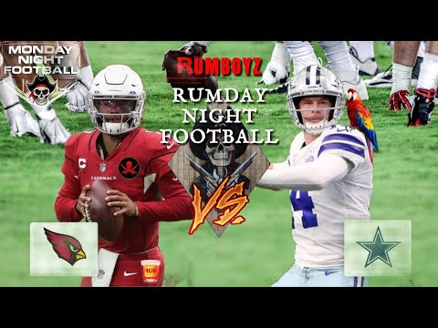Arizona Cardinals vs Dallas Cowboys Monday Night Football week 6