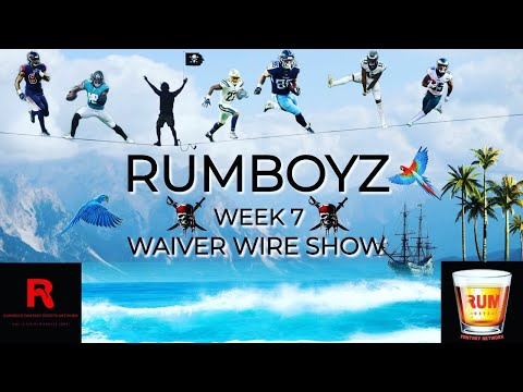 Fantasy Football Waiver Wire Show week 7