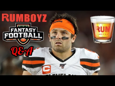 Rumboyz Fantasy Football LIVE Q&A Week 7