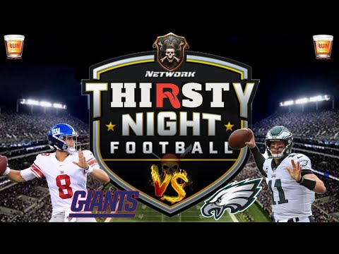 Philadelphia Eagles vs New York Giants Thursday Night Football week 7