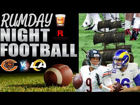 Chicago Bears vs Los Angeles Rams Monday Night Football week 7