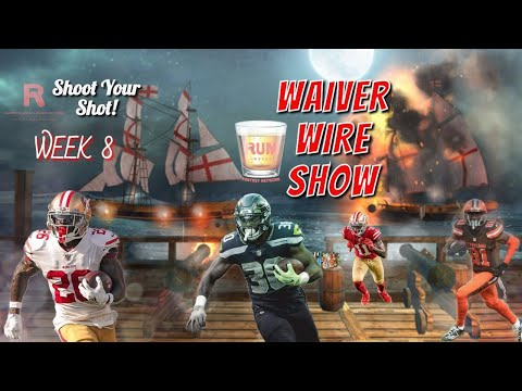 Fantasy Football Waiver Wire Show week 8