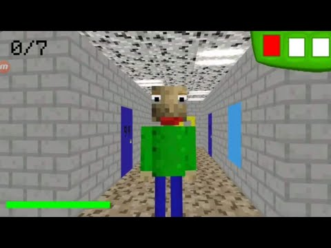 How to build baldis basics in Minecraft Ep.1