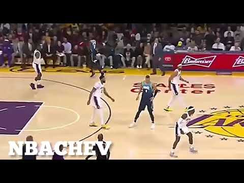 LUKA DONCIC DUNKS ON LEBRON??| Mavs vs Lakers