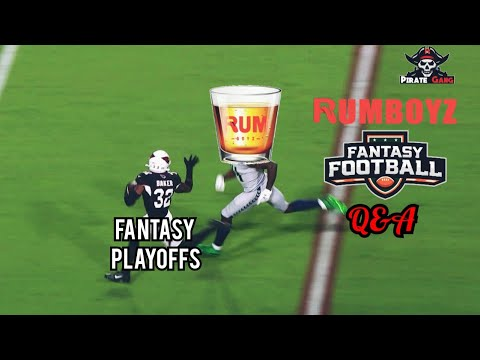 Rumboyz Fantasy Football LIVE Q&A Week 8