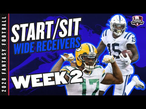 2020 Fantasy Football – Week 2 Wide Receivers – Start or Sit? Every Match Up