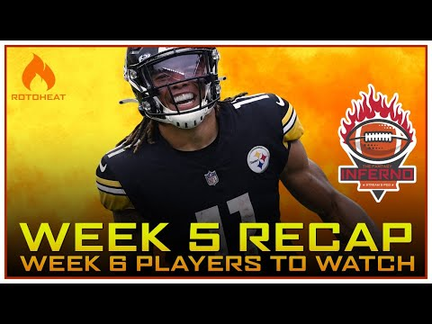 Week 5 Fantasy Football Recap, Who to Watch in Week 6 🏈