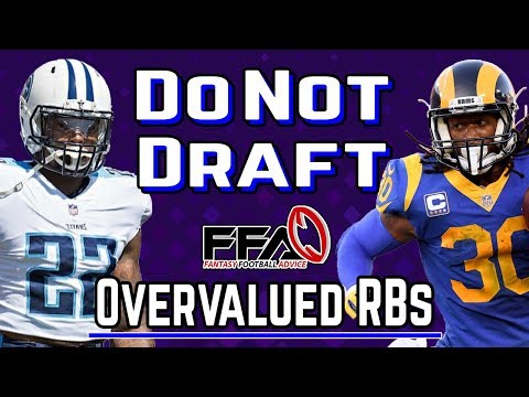 Do NOT Draft These RBs | Worst Draft Picks | 2019 Fantasy Football