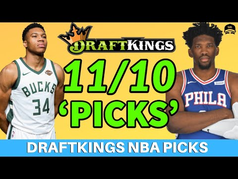 DRAFTKINGS NBA PICKS SUNDAY 11/10 PICKS | NBA DFS PICKS