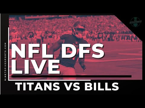NFL DFS Live: Showdown Titans vs Bills
