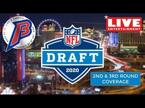 DAY 2 2020 NFL DRAFT || Buffalo Bills Coverage