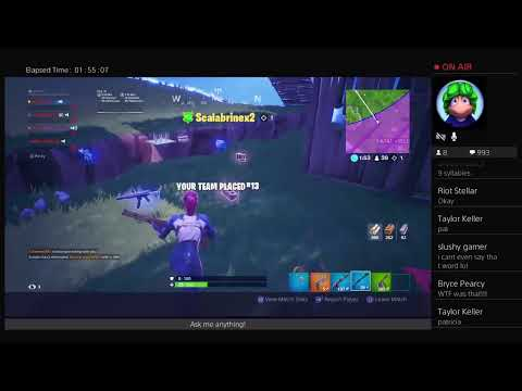 Fortnite Live Stream | #VaultTheMech Fantasy Football Draft Tomorrow!!