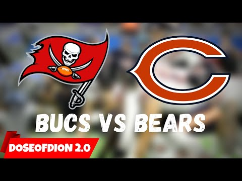 Tampa Bay Bucs Vs Chicago Bears LIVE Watch Party