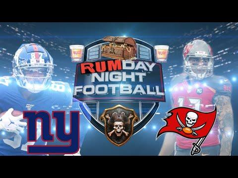 Tampa Bay Buccaneers vs New York Giants Monday Night Football week 8