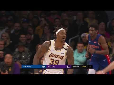 Dwight Howard Full Play vs Detroit Pistons | 01/05/20 | Smart Highlights