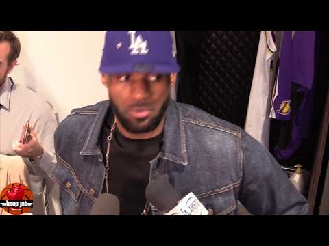 LeBron Reacts To Anthony Davis, Dwight Howard & Javale McGee Getting 20 Blocks. HoopJab NBA