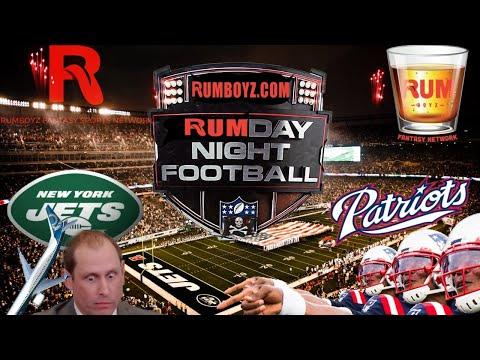 New England Patriots vs New York Jets Monday Night Football week 9
