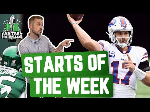 Fantasy Football 2020 – Starts of the Week + Week 9 Breakdown, Boom Boom! – Ep. #978
