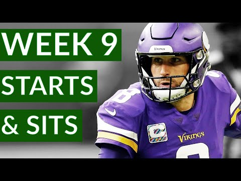 NFL Week 9 Fantasy Football Starts and Sits 2020 | Time2Football