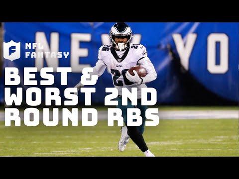 BEST & WORST 2nd Round RBs | NFL Fantasy Live