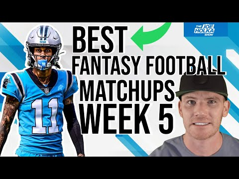 Week 5 Fantasy Football Matchups w/ LordReebs 🏈 BEST Fantasy Football Matchups | Week 5 Matchups