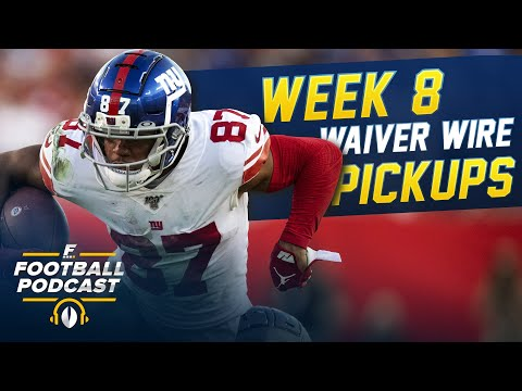 Week 8 Waiver Wire Pickups (2020 Fantasy Football)