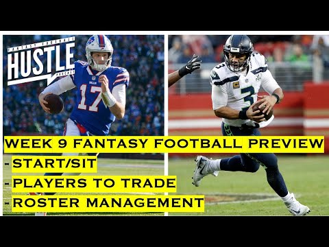 Week 9 Fantasy Football Preview