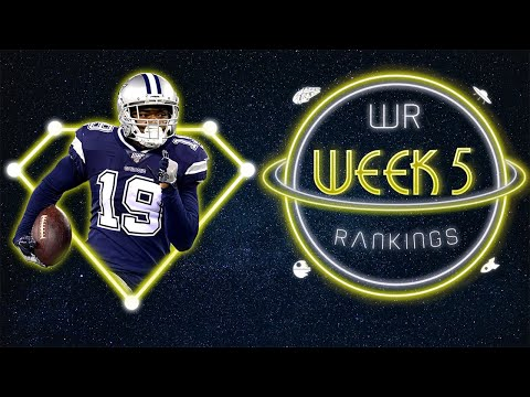 2020 Fantasy Football – Week 5 Wide Receiver Rankings