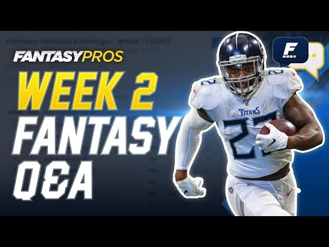 FantasyPros Live: Week 2 Q&A with Mike Tagliere (2020 Fantasy Football)