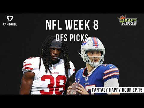 Ja who Hasty ?| Sunday Week 8 DFS Picks | Fantasy Happy Hour Ep. 14 | Draft Kings & FanDuel