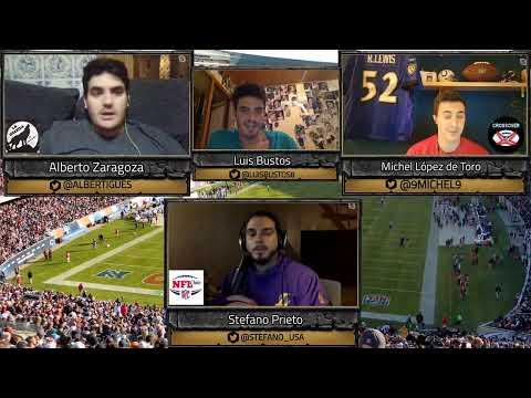 Previa de la semana 5 de la NFL Crossover NFL + La Guarida + NFL Chile