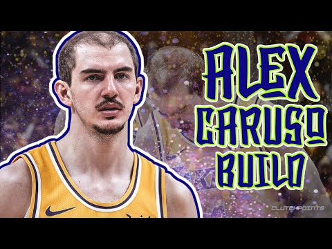 "HOW TO MAKE ALEX CARUSO BUILD ON NBA 2K20 ""CARUSHOW"" FLOOR SPACING SLASHER"