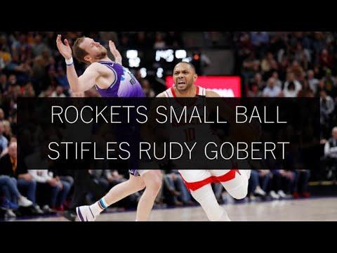 Rockets Small-Ball Lineup Shuts Down Rudy Gobert