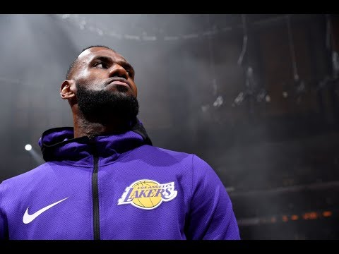 LeBron James' First Lakers Introduction at Staples Center