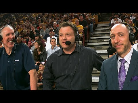 Frank Caliendo imitates Bill Walton during Oregon-ASU